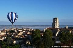 Lectoure et montgolfière