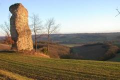 Pile Gallo-romaine Ordan Larroque_chemin des crêtes