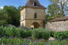 jardin et pigeonnier abbaye de Flaran